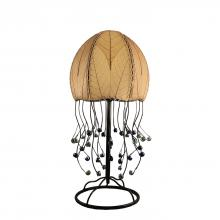 eangee jellyfish table lamp in natural