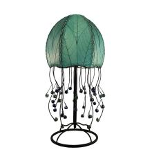 eangee jellyfish table lamp in sea blue