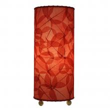 Eangee table lamp in red