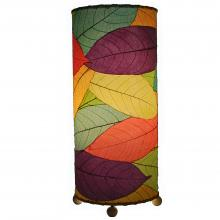 Eangee Outdoor Indoor Cocoa Cylinder Table Lamp