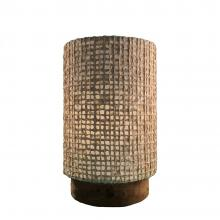 Paper Cylinder Table Lamp