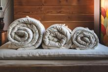 Holy Lamb Organics Natural Wool Comforter