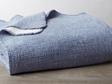Coyuchi Organic Cosy Cotton Blanket