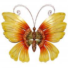 Eangee metal wall art decor sunflower butterfly