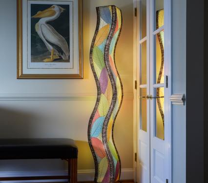 Eangee Giant Wave Lamp in Multicolor