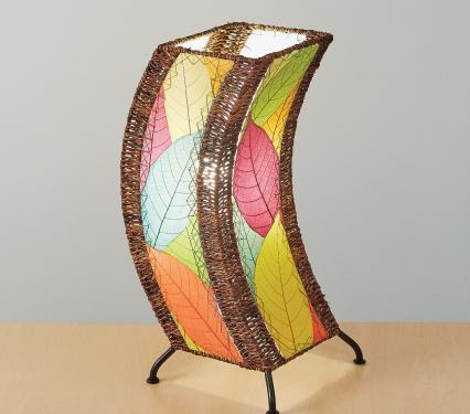 Eangee C Shape Table Lamp
