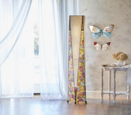 Eangee LED Lamp Trapezoid Giant Floor Lamp Decorative Lamp