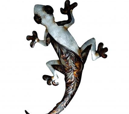 Eangee Gecko Metal Wall Art