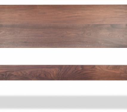 Harmony style solid wood custom bed