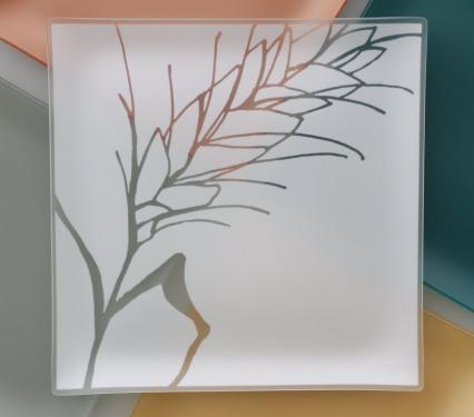 "Riverside Design 13"" Wheat Plates With Purpose"