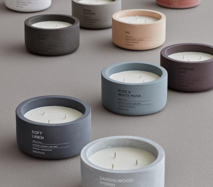 Luxury Blomus Natural Candle