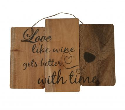 Eangee Reclaimed Wood Wall Signs