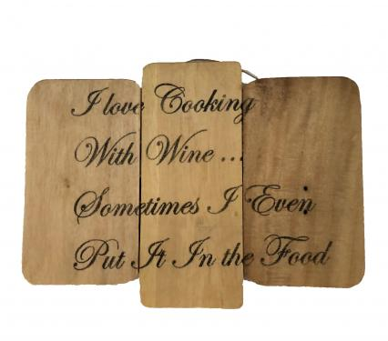 Eangee Reclaimed Rustic Wood Wall Signs