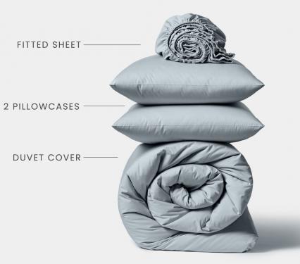 Organic Cotton Bedding Comforter and Sheet Set